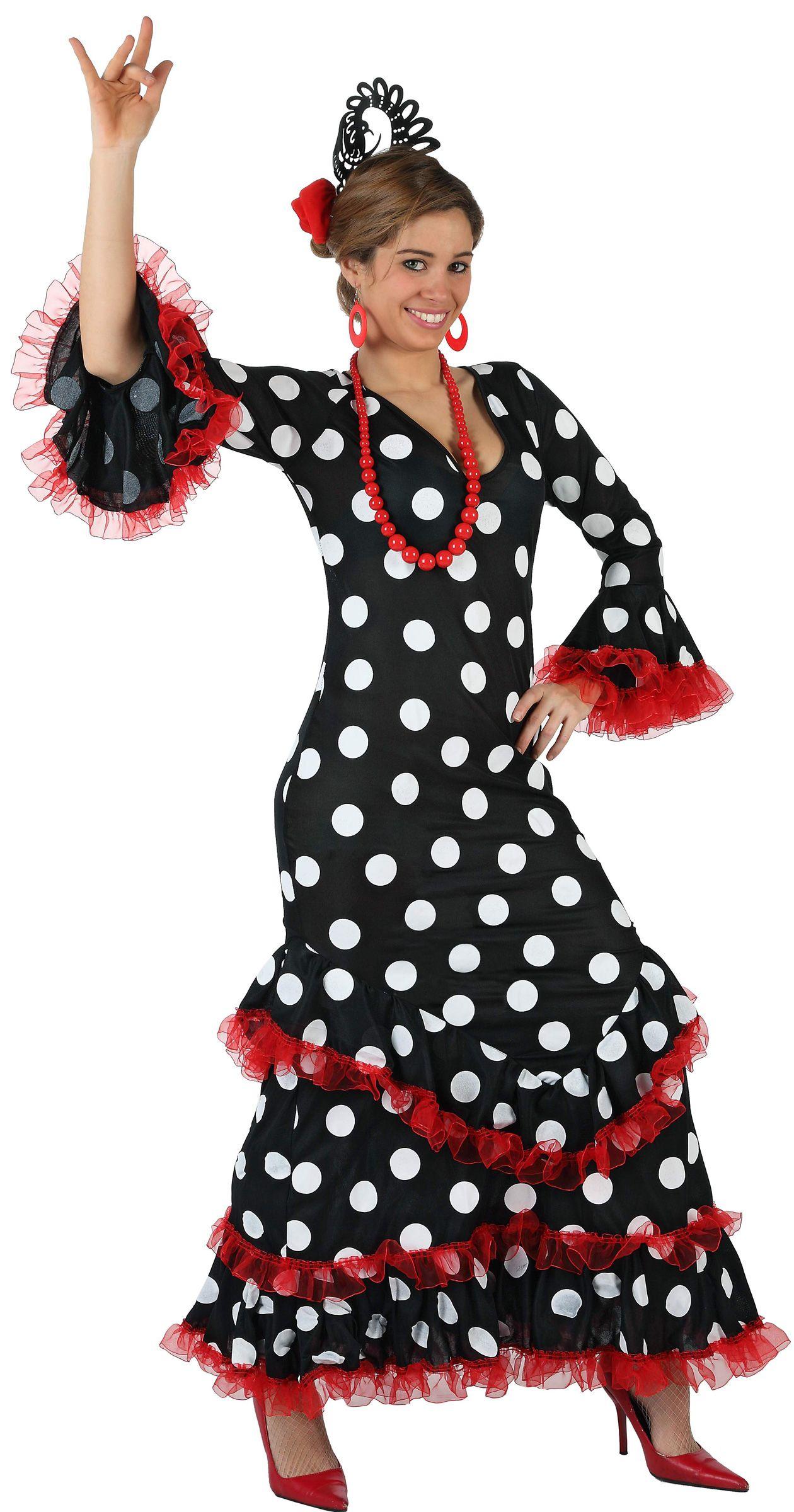 Disfraz de sevillana para mujer Vegaoo, compra de
