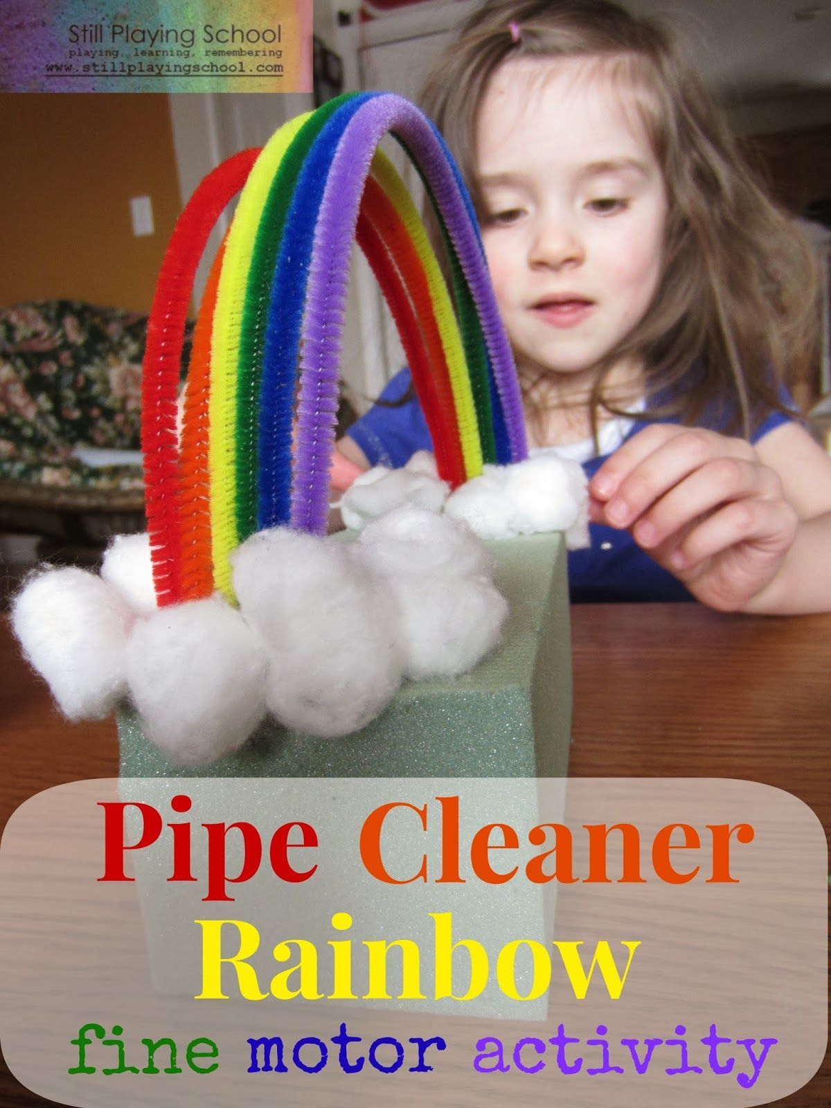 Pipe Cleaner Rainbow