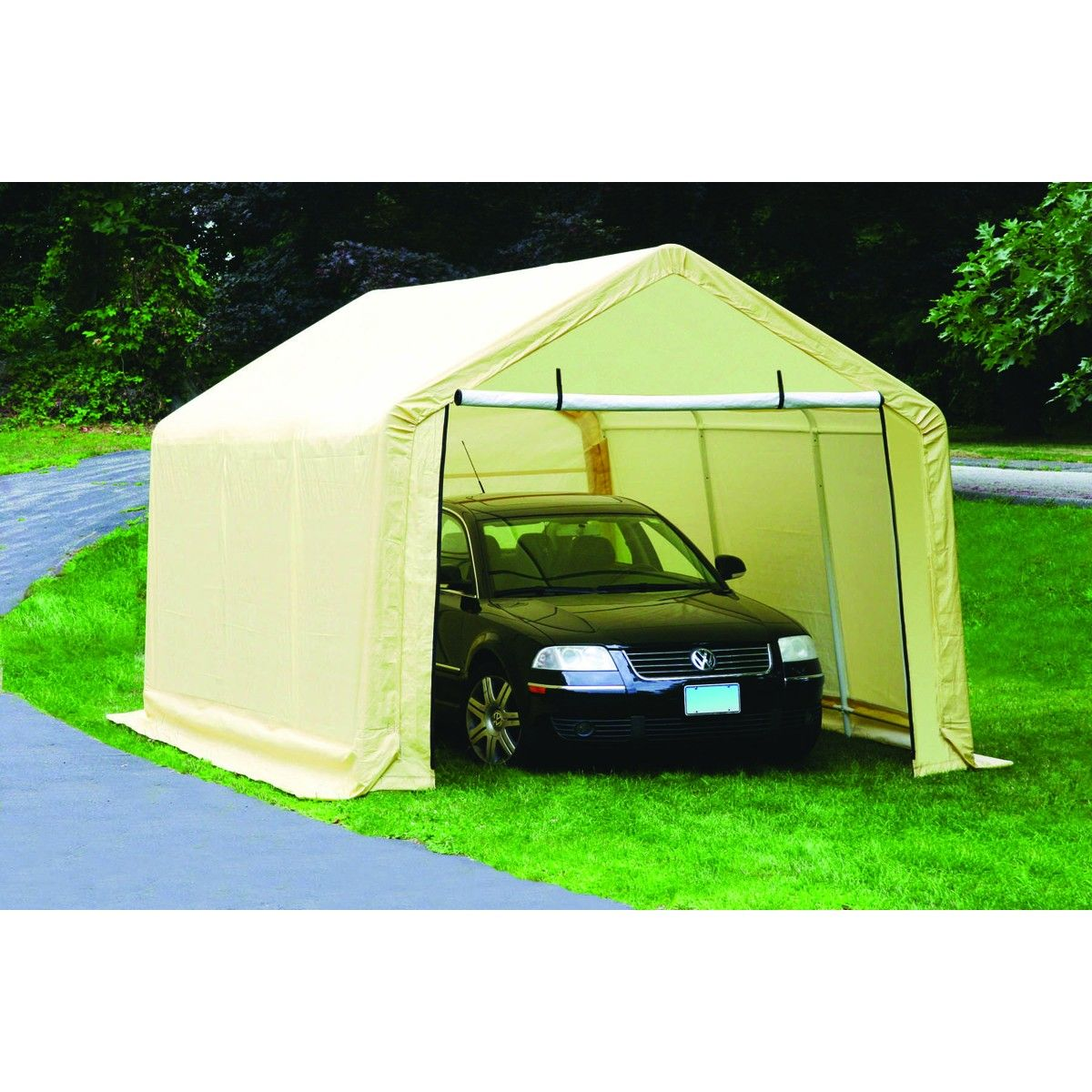 10 ft. x 17 ft. Portable Garage (At Harbor Freight could