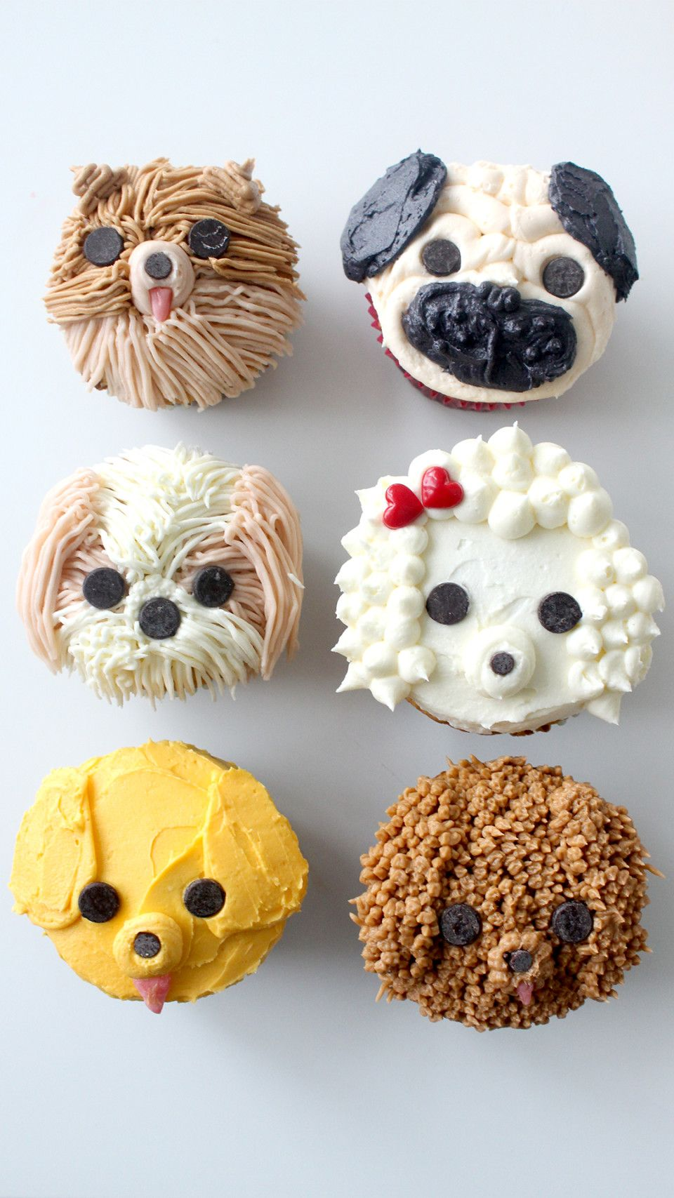 Dog Cupcakes Recipe Real dog, Buttercream recipe and