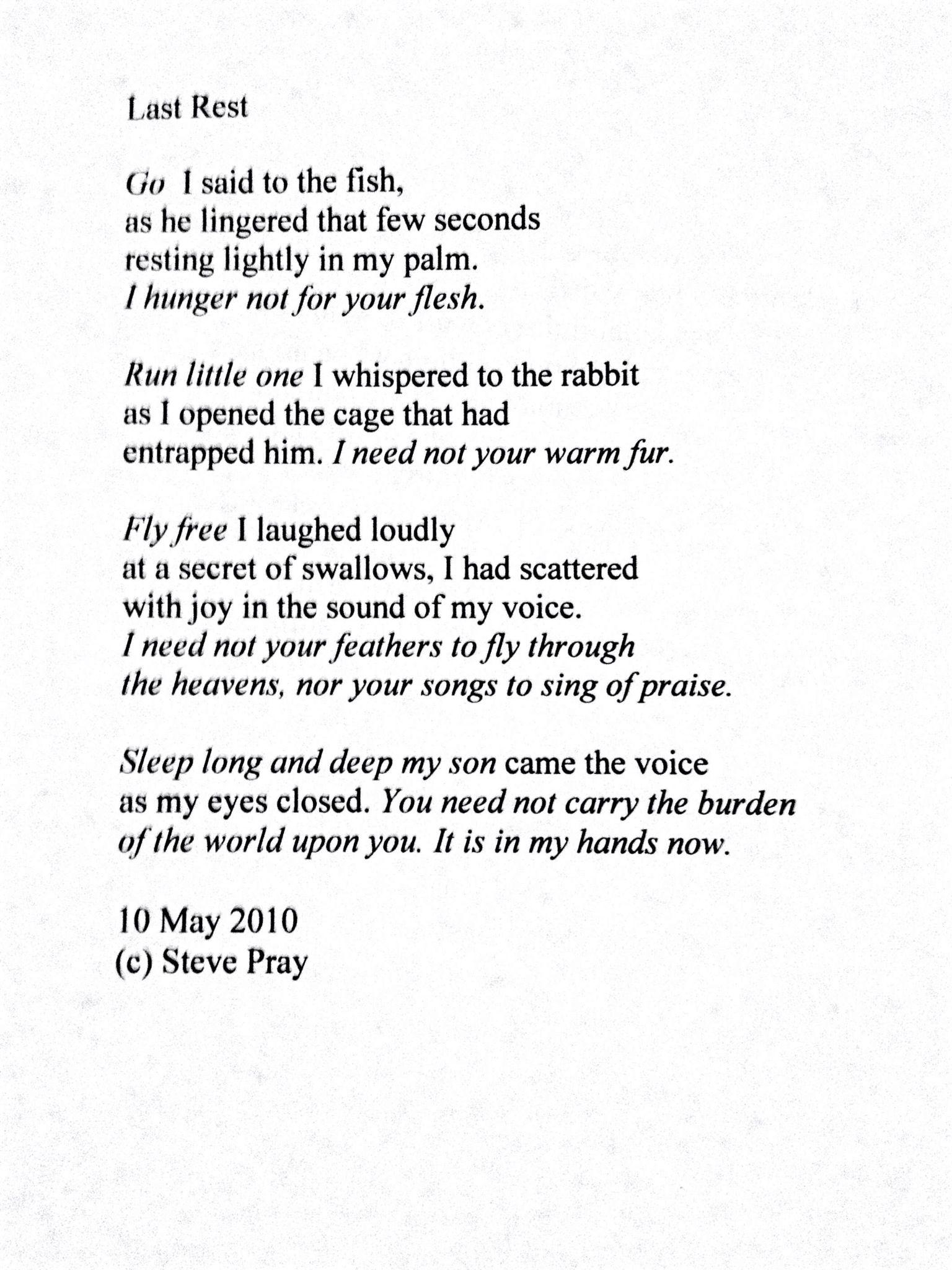Poem by a hospice patient. Nurse wisdom Pinterest