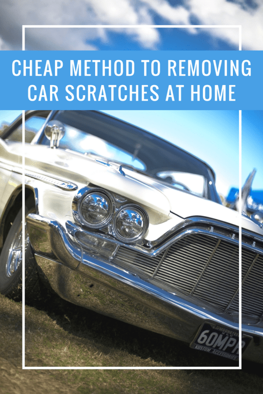 Cheap Method To Removing Car Scratches At Home If That Scratch In Your S Paint