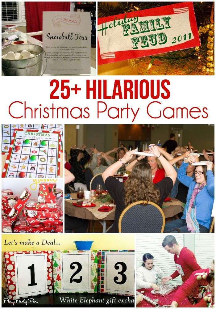 The best collection of 25 awesome Christmas party games