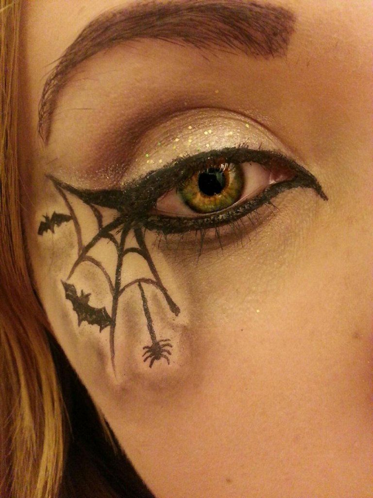 The most awesome images on the Halloween makeup
