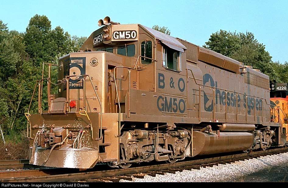 Photo BO GM50 Baltimore & Ohio (B) EMD