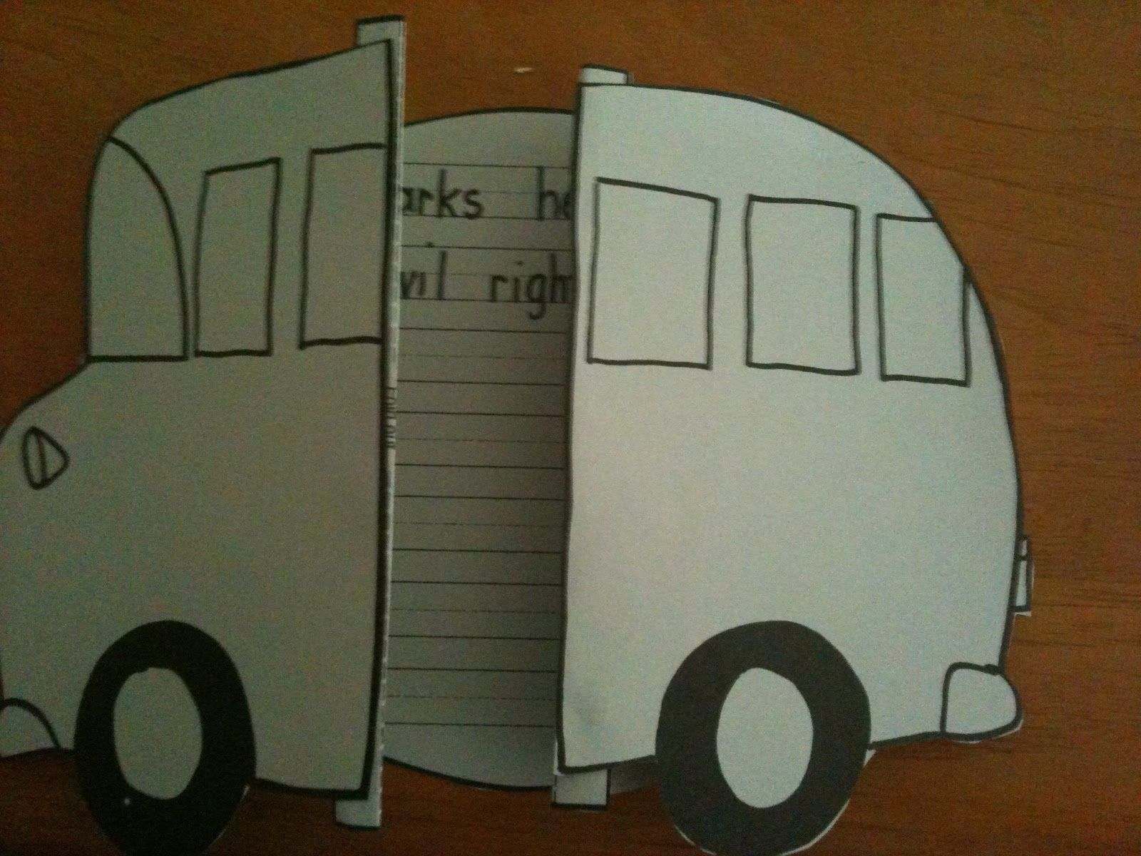 Rosa Parks Bus Activities