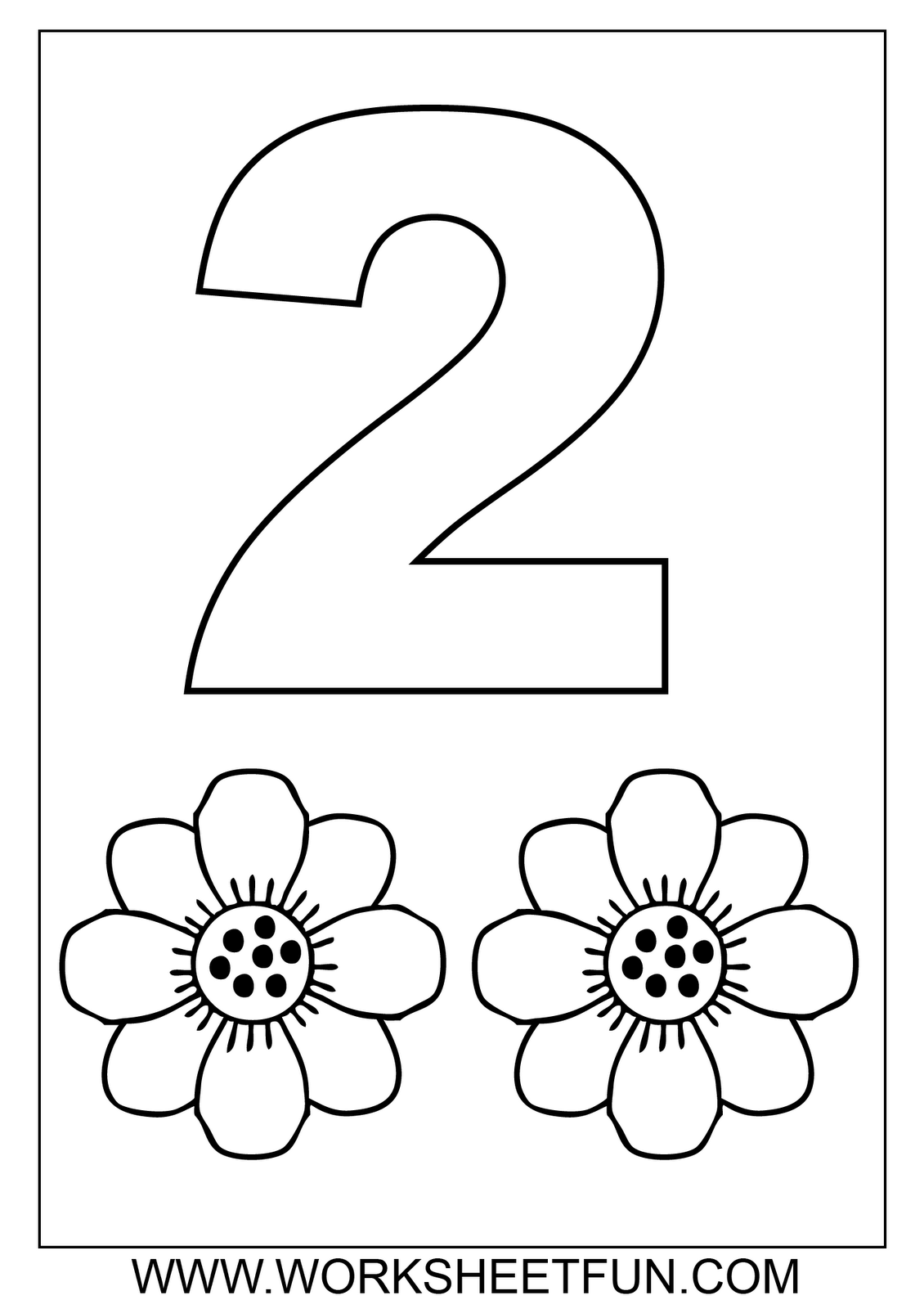 Free Math Worksheets Number Coloring