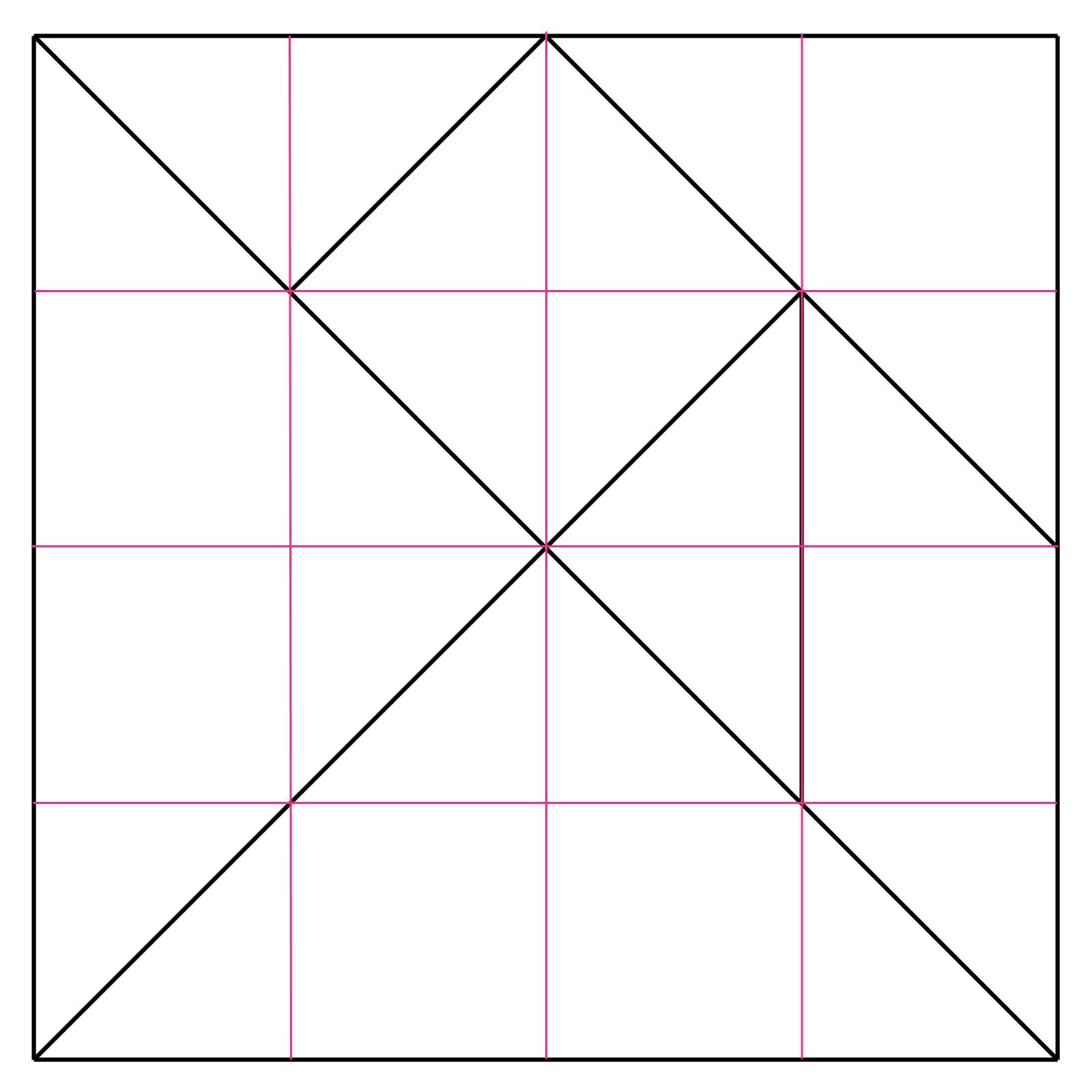 Tangram Puzzel Maken 7 Puzzelstukken Teken Ze Volgens De