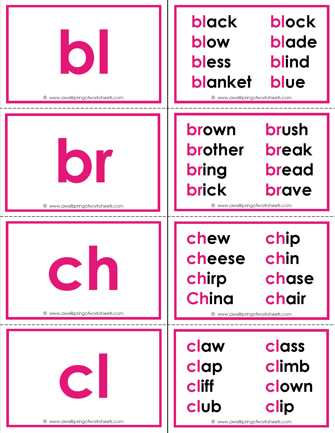 Consonant Worksheet N