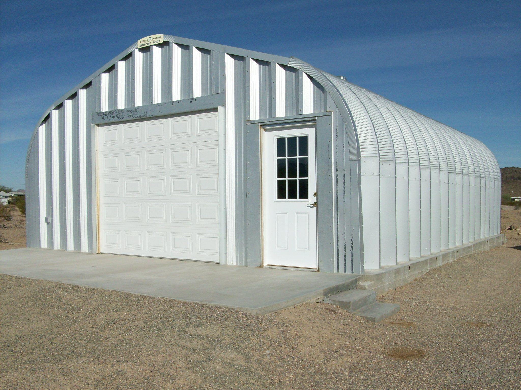 Wonderful Prefab Garages Of Steel Building Metal Prefab