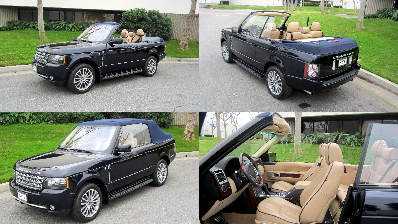 Range Rover 2 door Convertible RR Pinterest