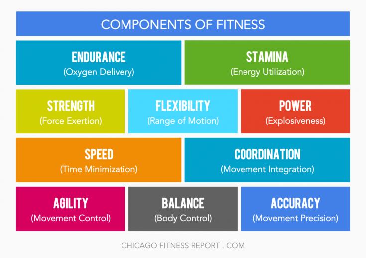CrossFit Fitness Components fit Pinterest Crossfit