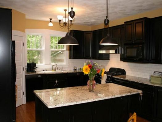Prepossessing What Color Should I Paint My Kitchen Cabinets Dark Colors With
