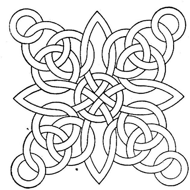 Free Printable Geometric Coloring Pages S These Geometrical