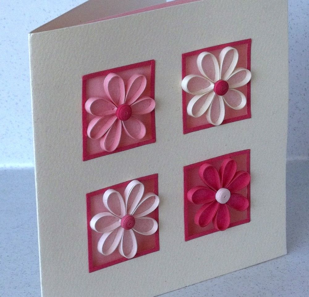 Quilling Ideas The card I want to show you today is one
