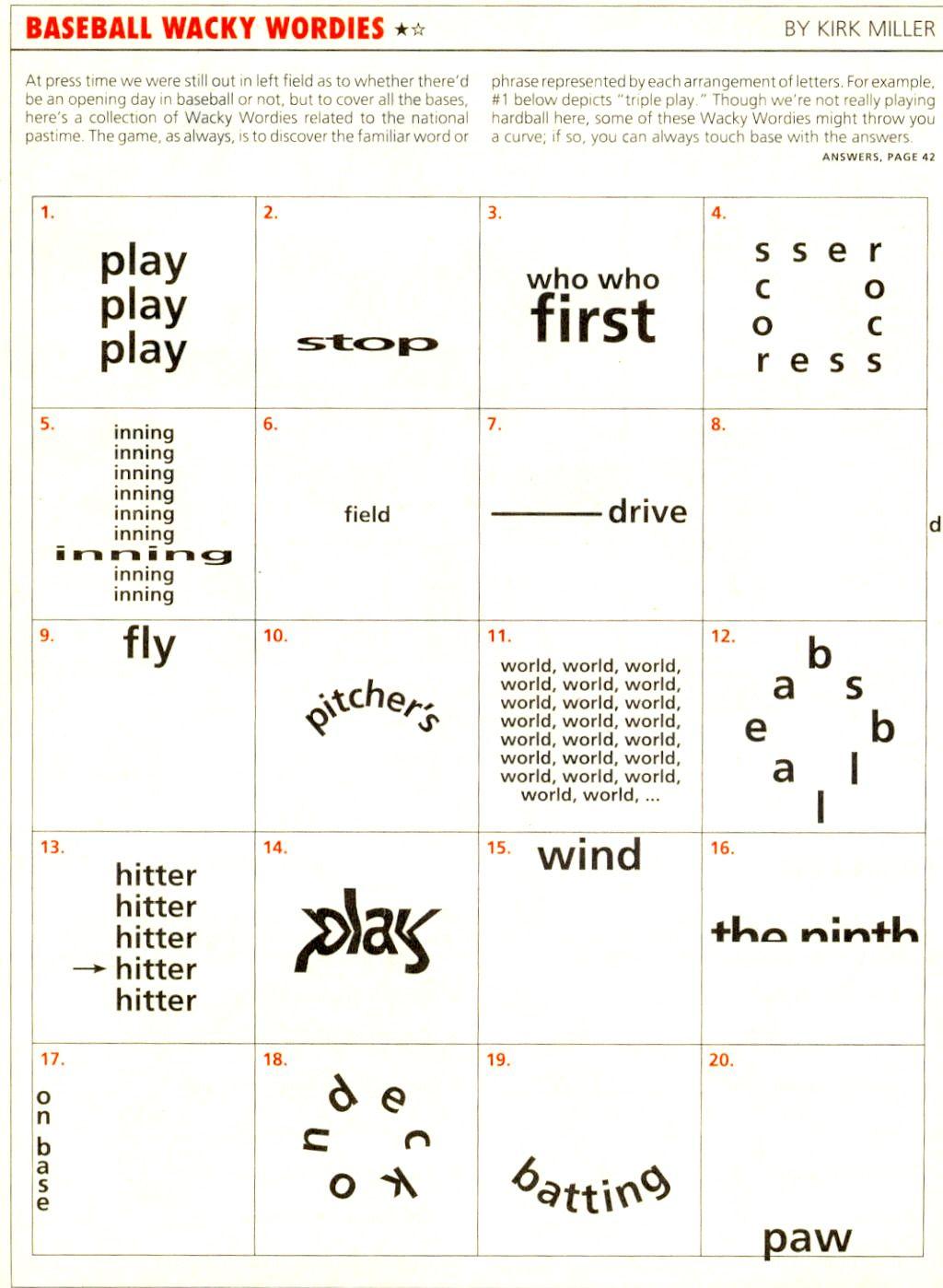 Wackie Wordies 69 Word Games Pinterest Brain
