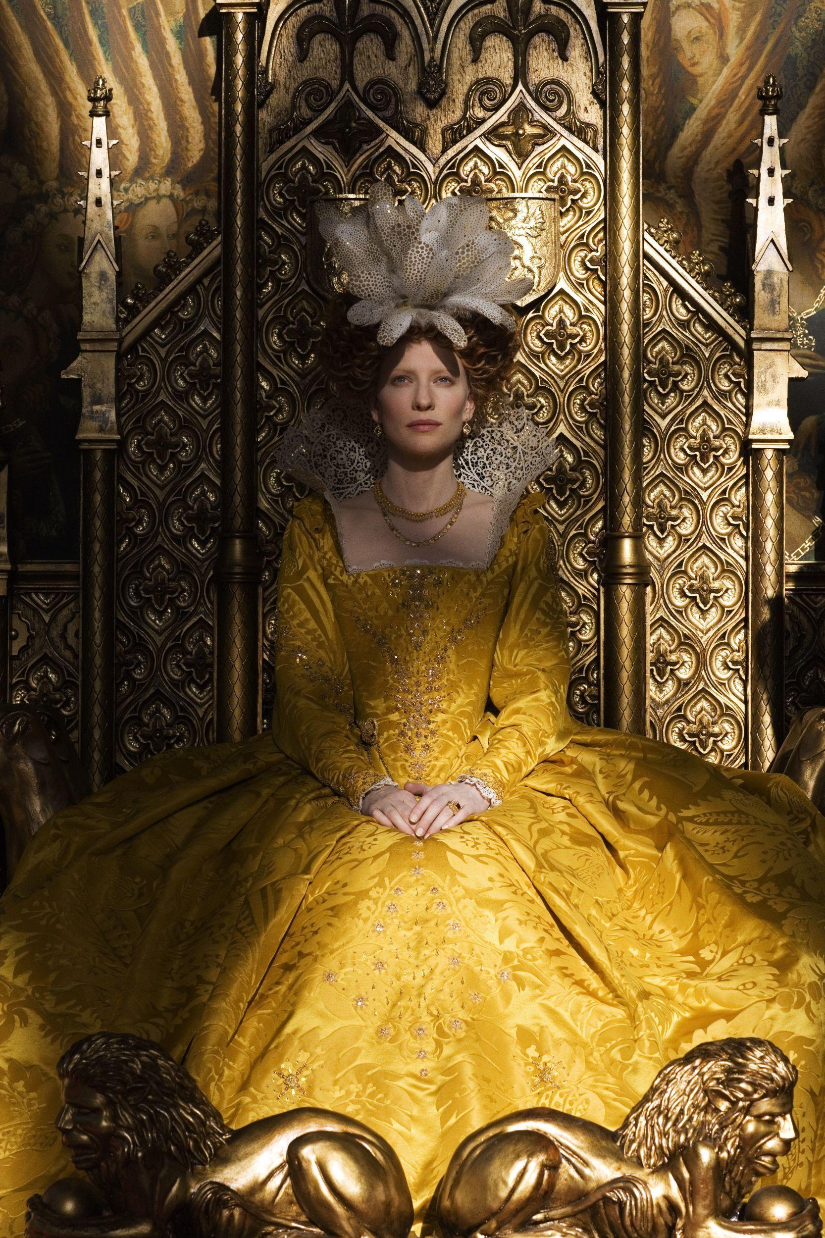 Cate Blanchett as Queen Elizabeth I The Golden Age