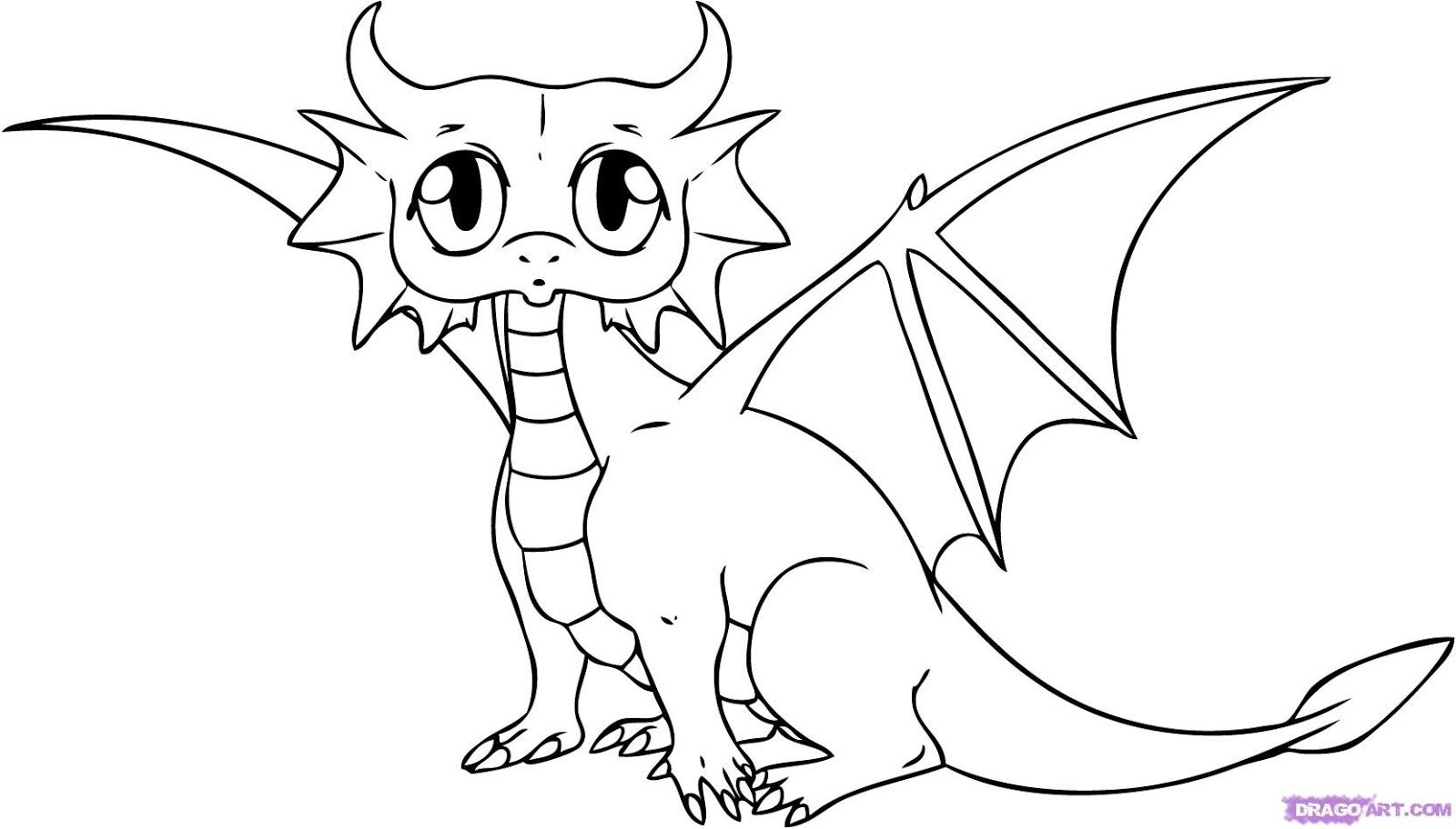 Images For Gt Easy Dragon Drawings For Kids