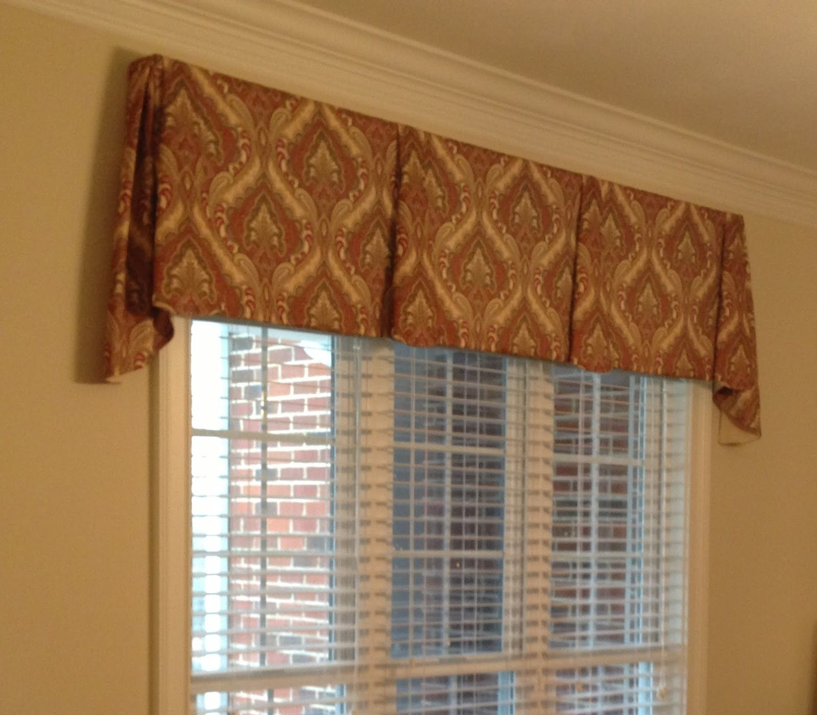 Free Pleated Valance Patterns