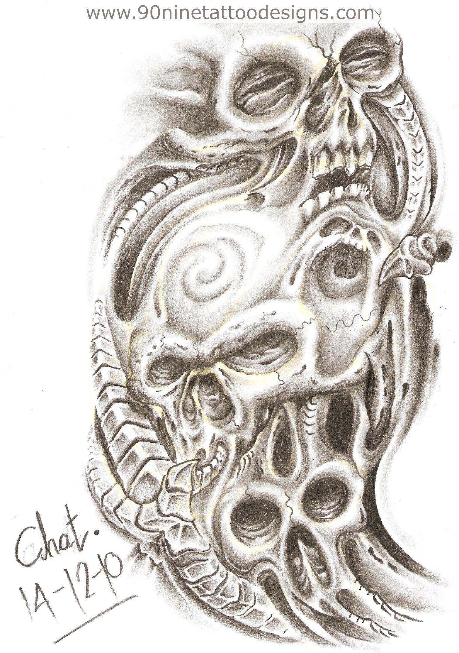Evil Skull Tattoo Drawings skulls tattoo sketch mexican