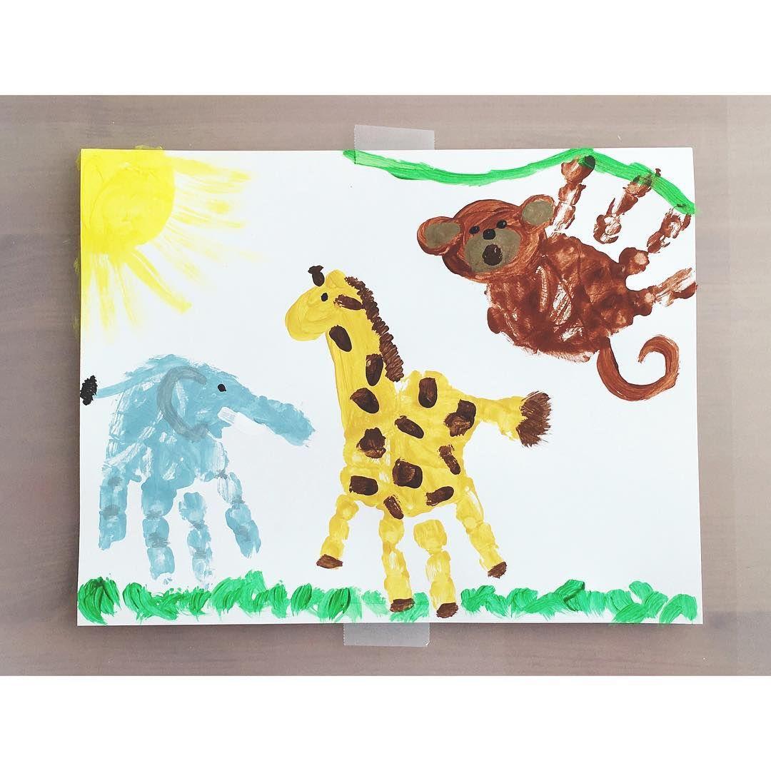 Handprint Zoo