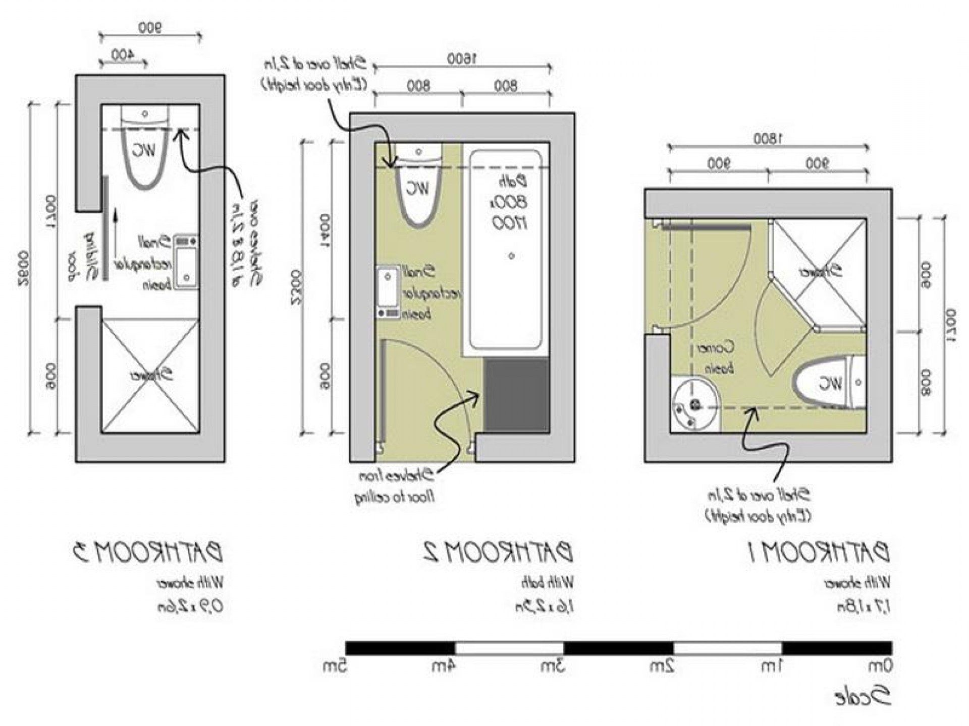 Small Bathroom Blueprints Nice Garage Apartment Plans