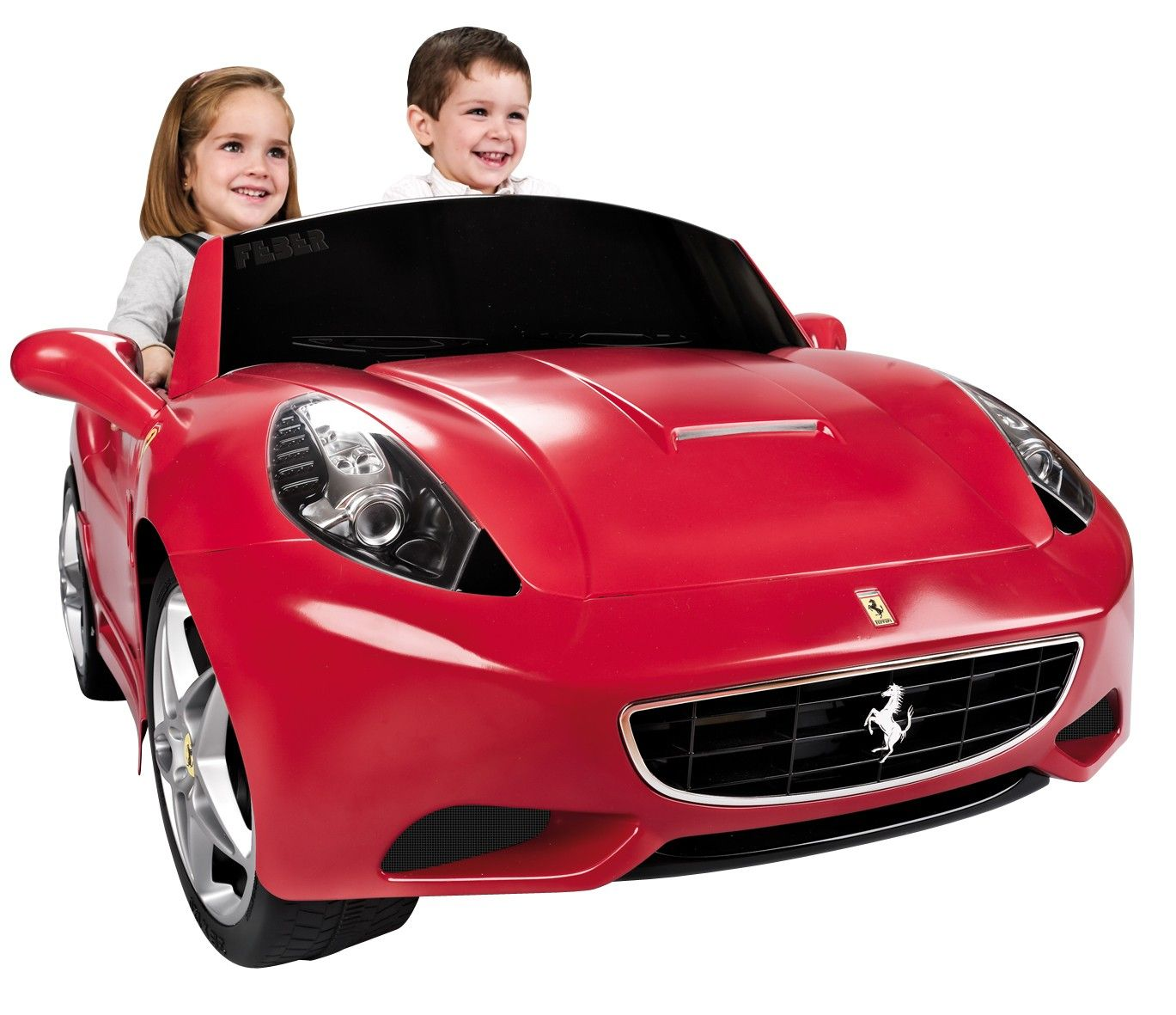 Licensed 12v Feber Ferrari Rideon Electric Car Kids