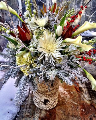 Best 25 Winter Flower Arrangements Ideas On Pinterest