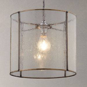 Easy to fit Leighton Bubble Glass Ceiling Shade   Glass ceiling     Buy John Lewis Easy to fit Leighton Bubble Glass Ceiling Shade Online at  johnlewis