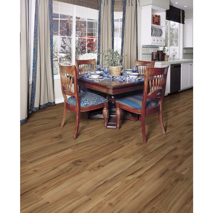 Shop Style Selections 7.6in W x 4.23ft L Natural Acacia