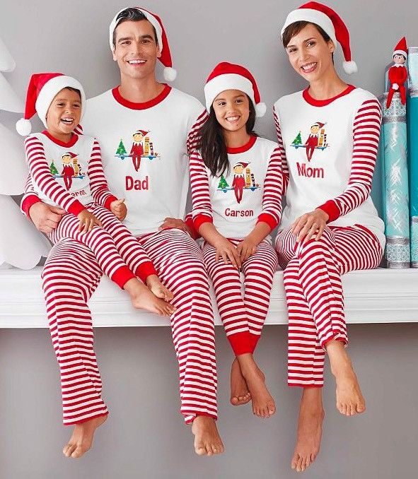 Buy Family Christmas Pajamas Set 2017 New