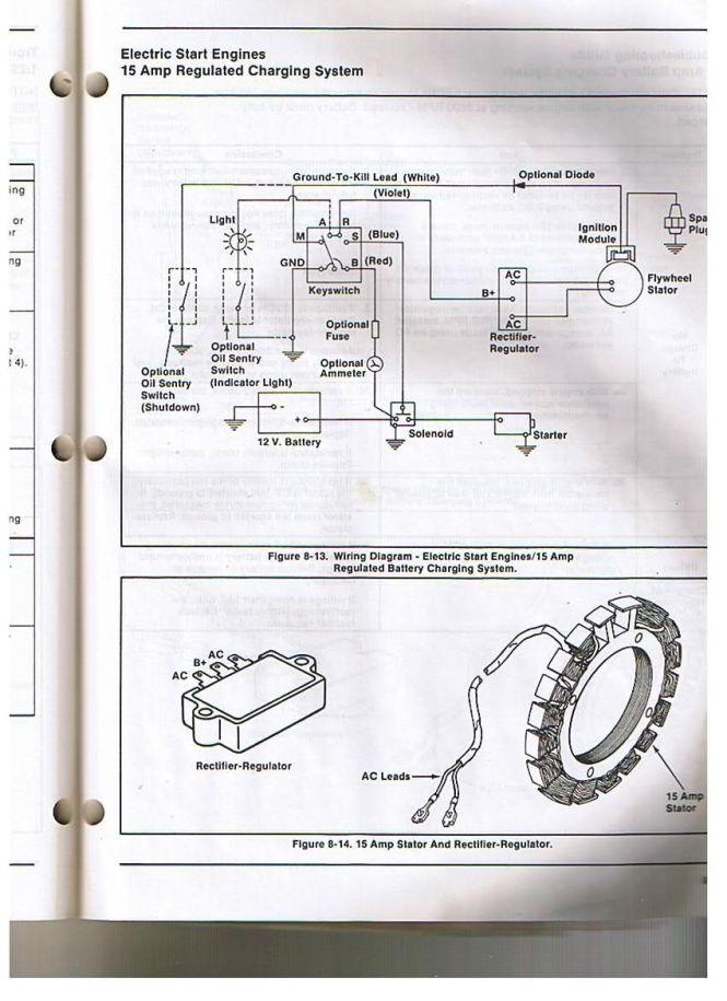 Wheel Horse 312 8 Wiring Diagram