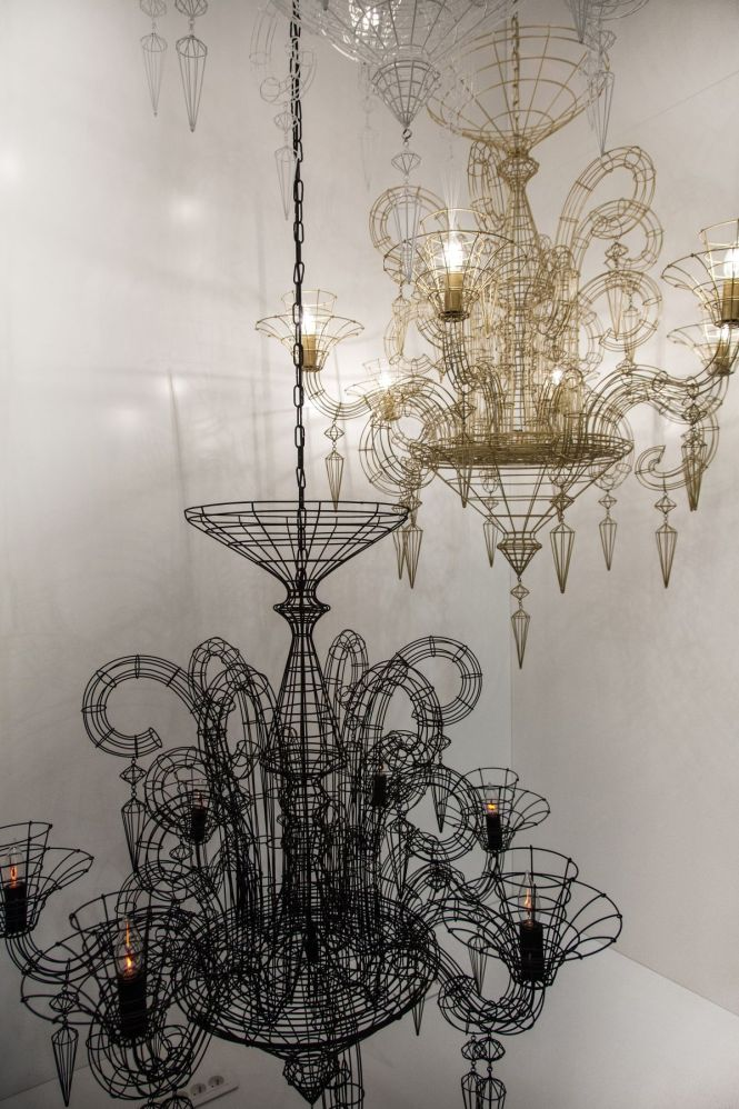 Maison And Objet Shows Many Options For Bedroom Lamps Wire Chandeliermodern