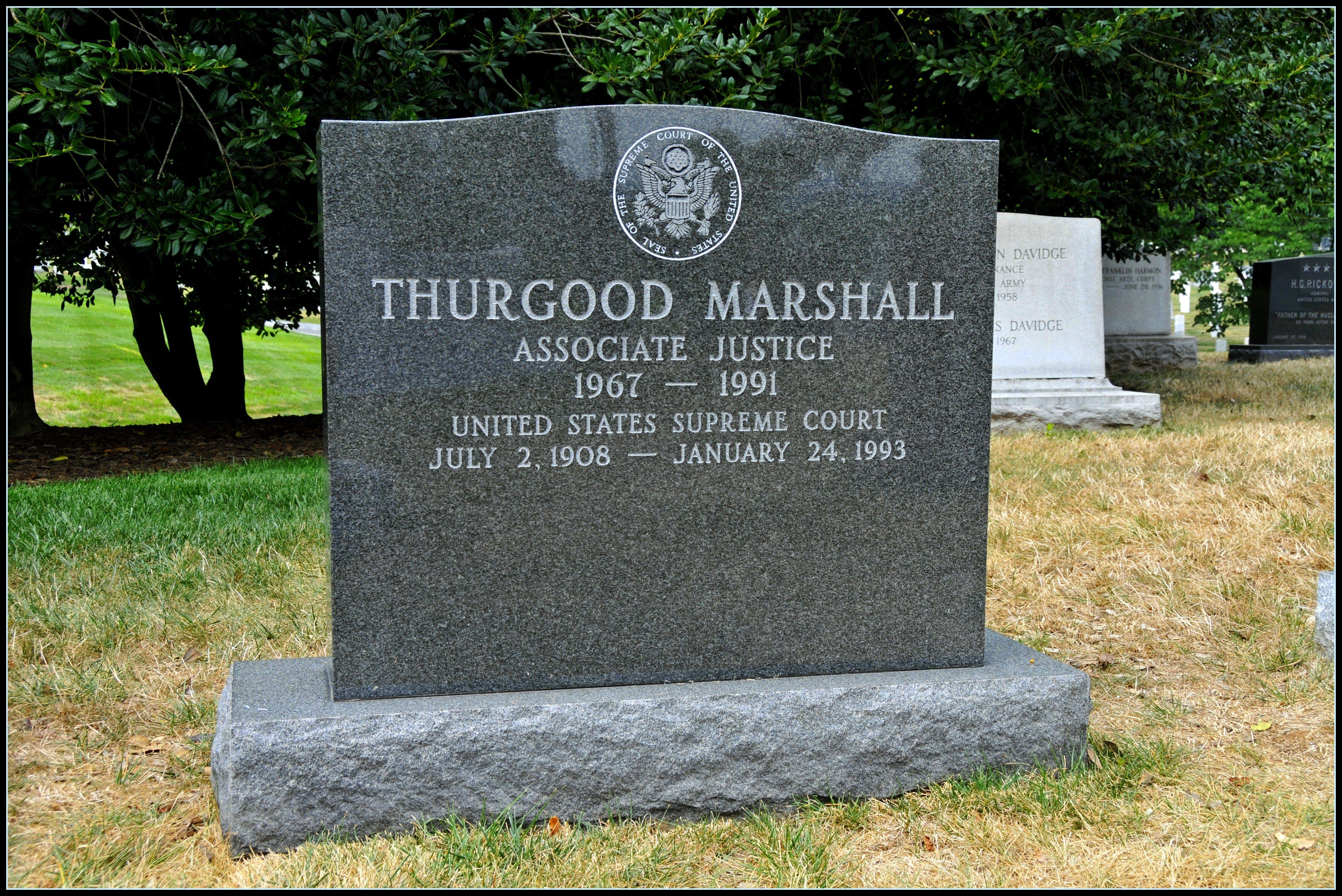 Thurgood Marshall Grave