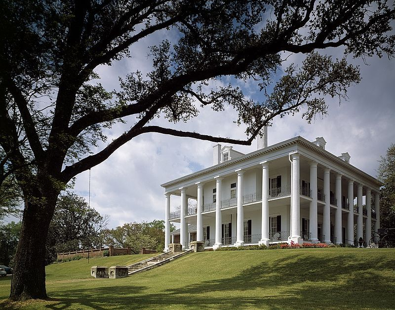 Dunleith, Natchez, MS. The previous building, Routhland