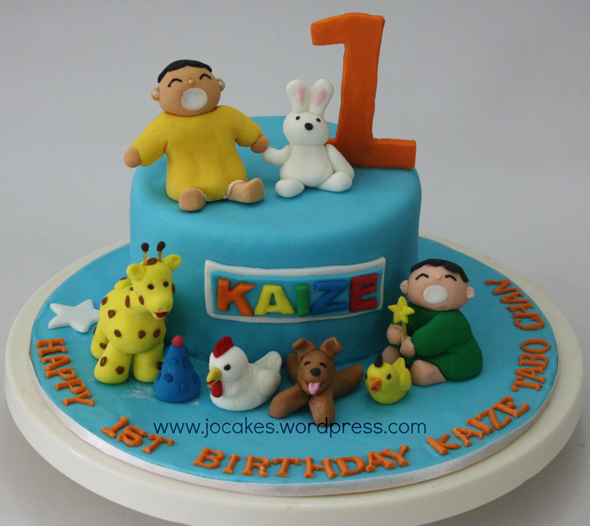 Minna Tabo cake for 1 year old boy. Cake and Birthday cakes