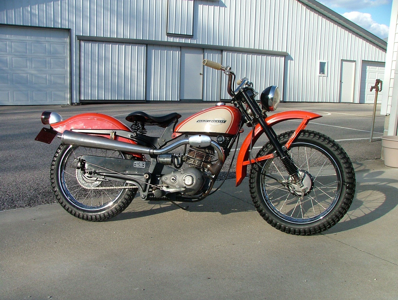 64 Harley Davidson Scat Vintage Bike This one looks a lot nicer