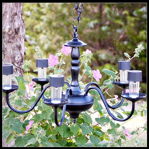 Diy Projects And Ideas For The Home Solar Chandeliers Gardens