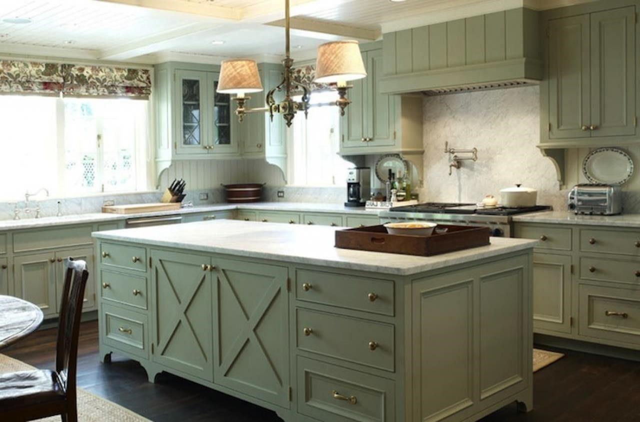 olive green painted kitchen Bathroom & Kitchen