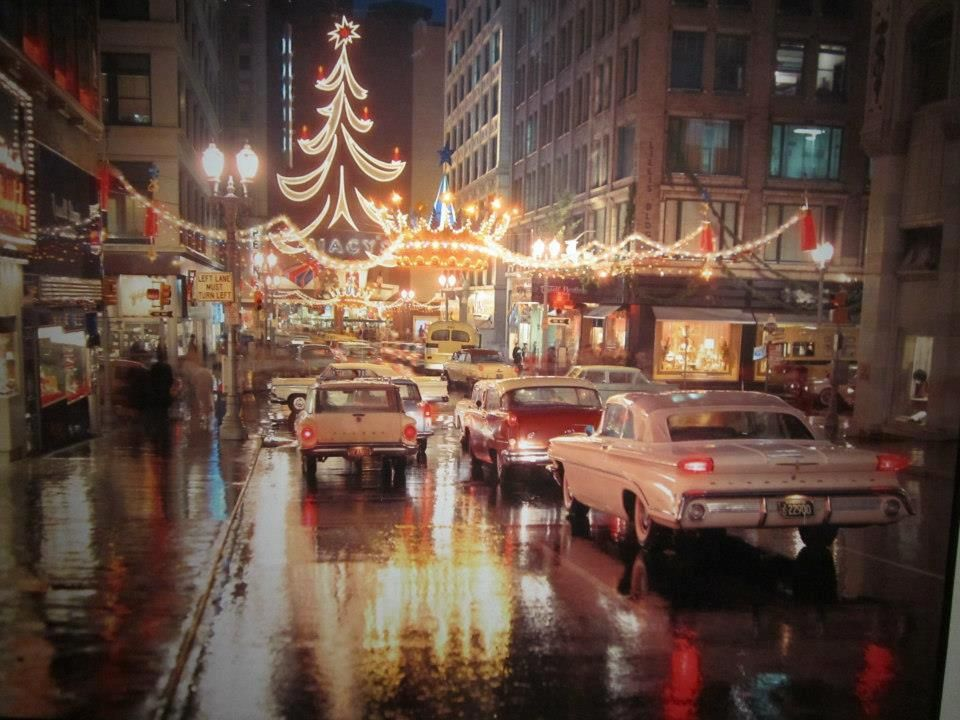 Christmas Kansas City in the 60's This is how I