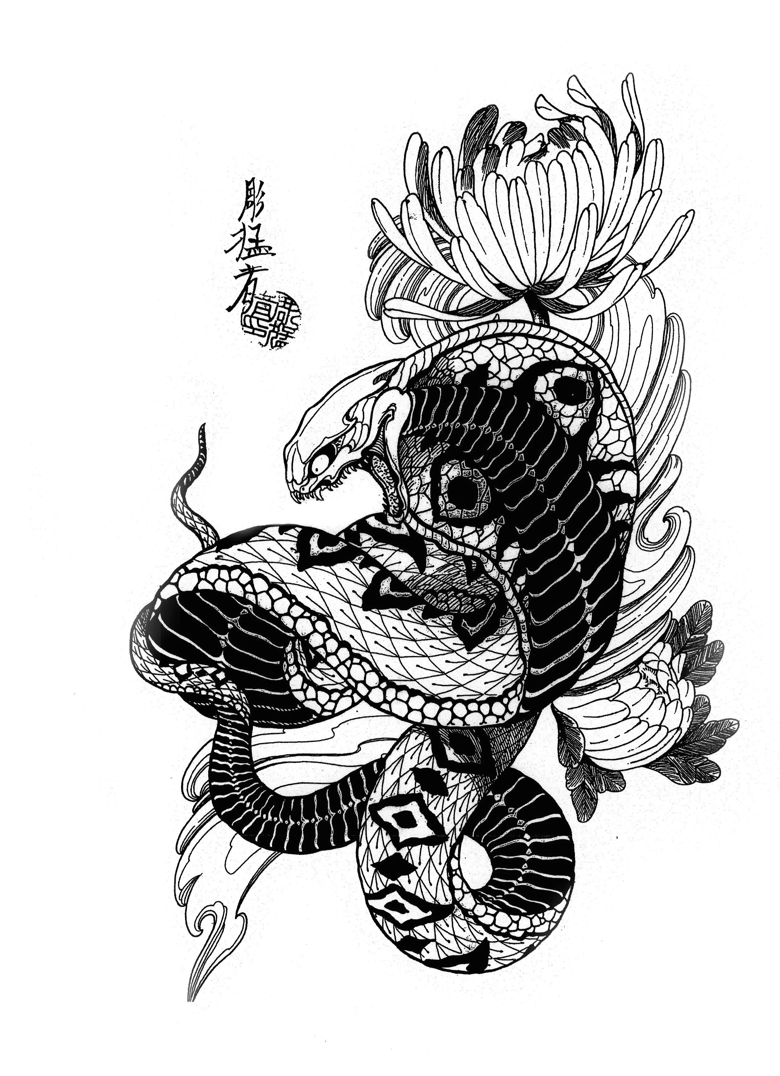 Jack Mosher Tattoo Flash Set (100 татуировок) Art