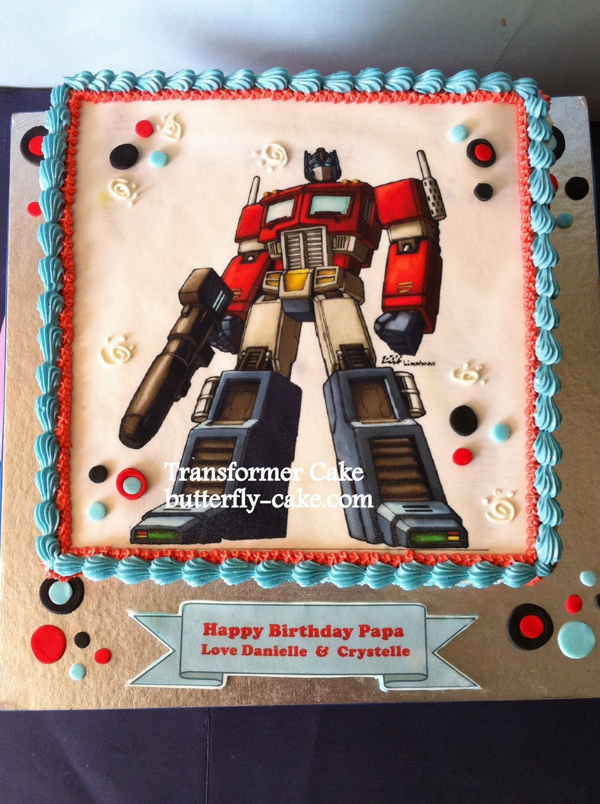 Optimus Prime Cake Ideas