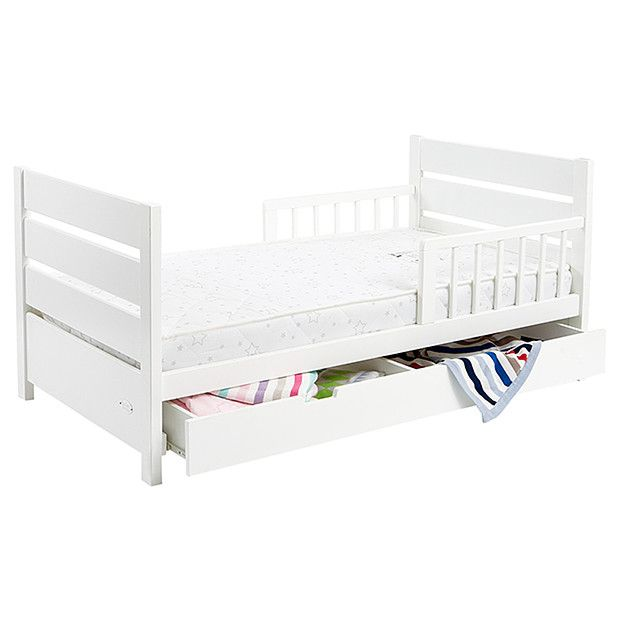 Mother S Choice Toddler Bed With Drawer White Target Australia