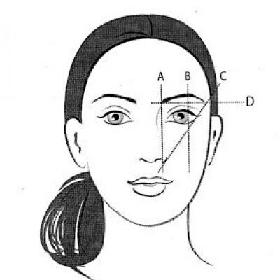 Image result for eyebrow mapping