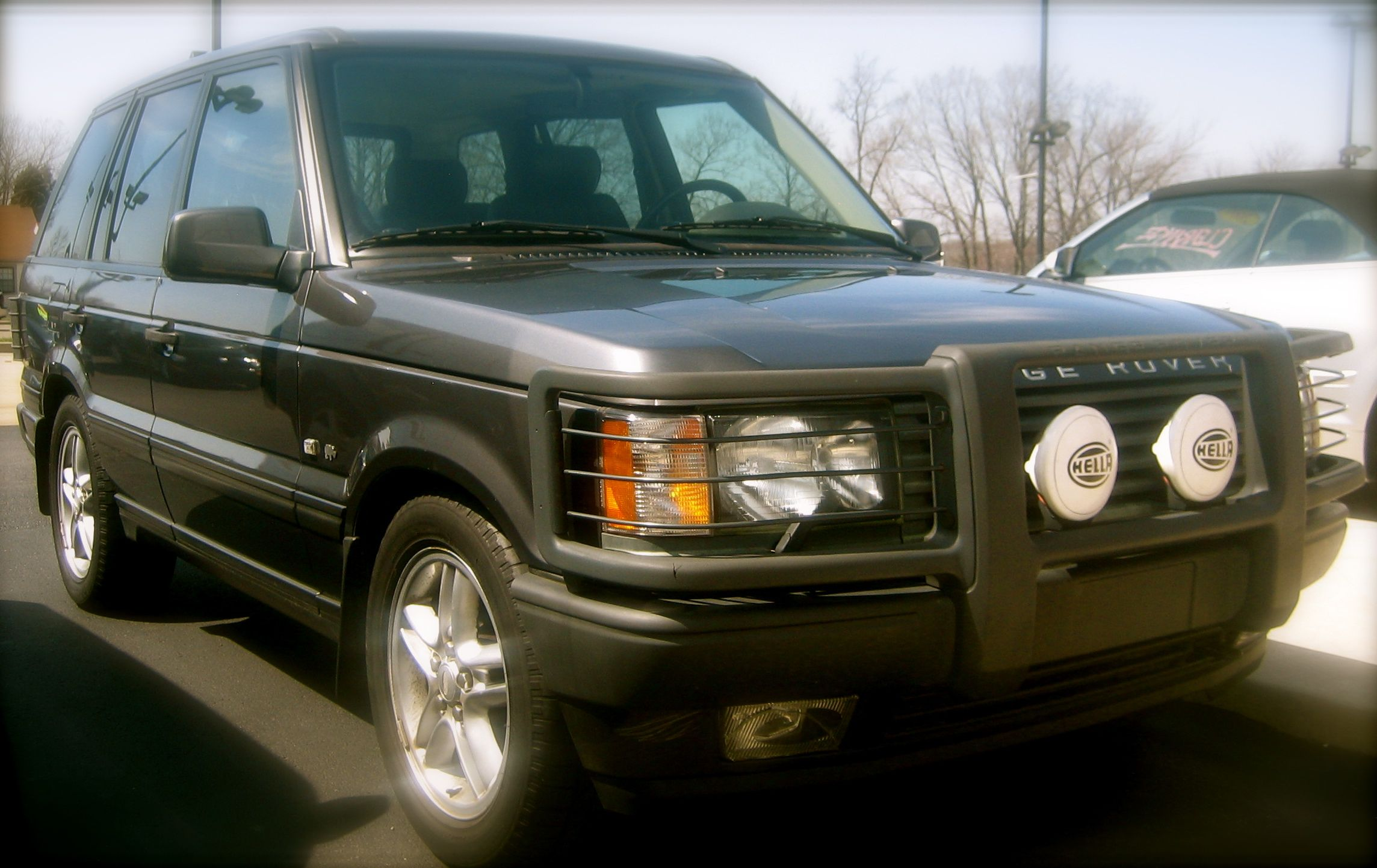 The day we said goodbye 2000 Land Rover Range Rover Rhino Edition