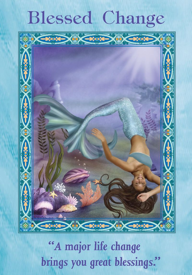 Oracle card blessed change doreen virtue official