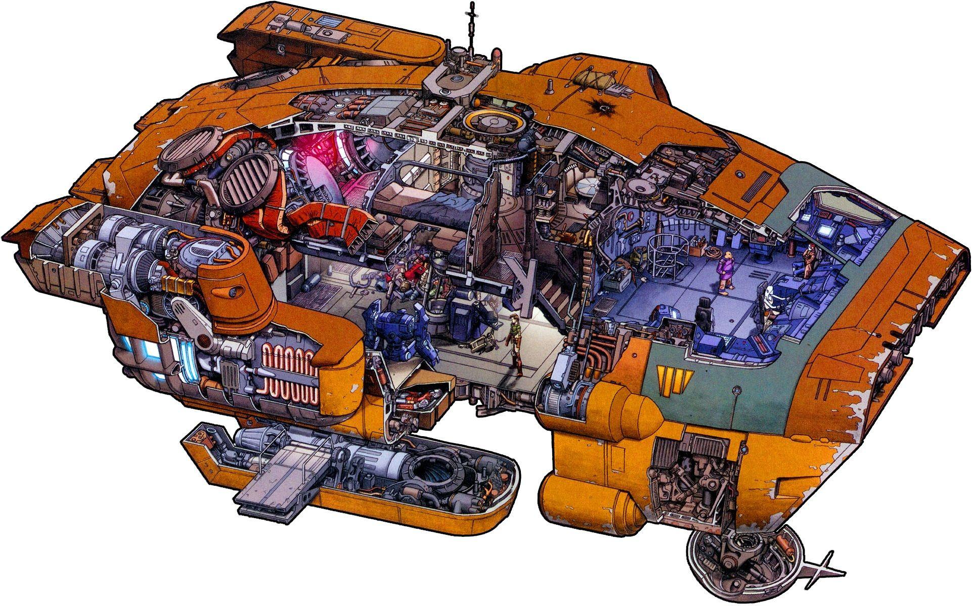 Sci Fi Cutaways