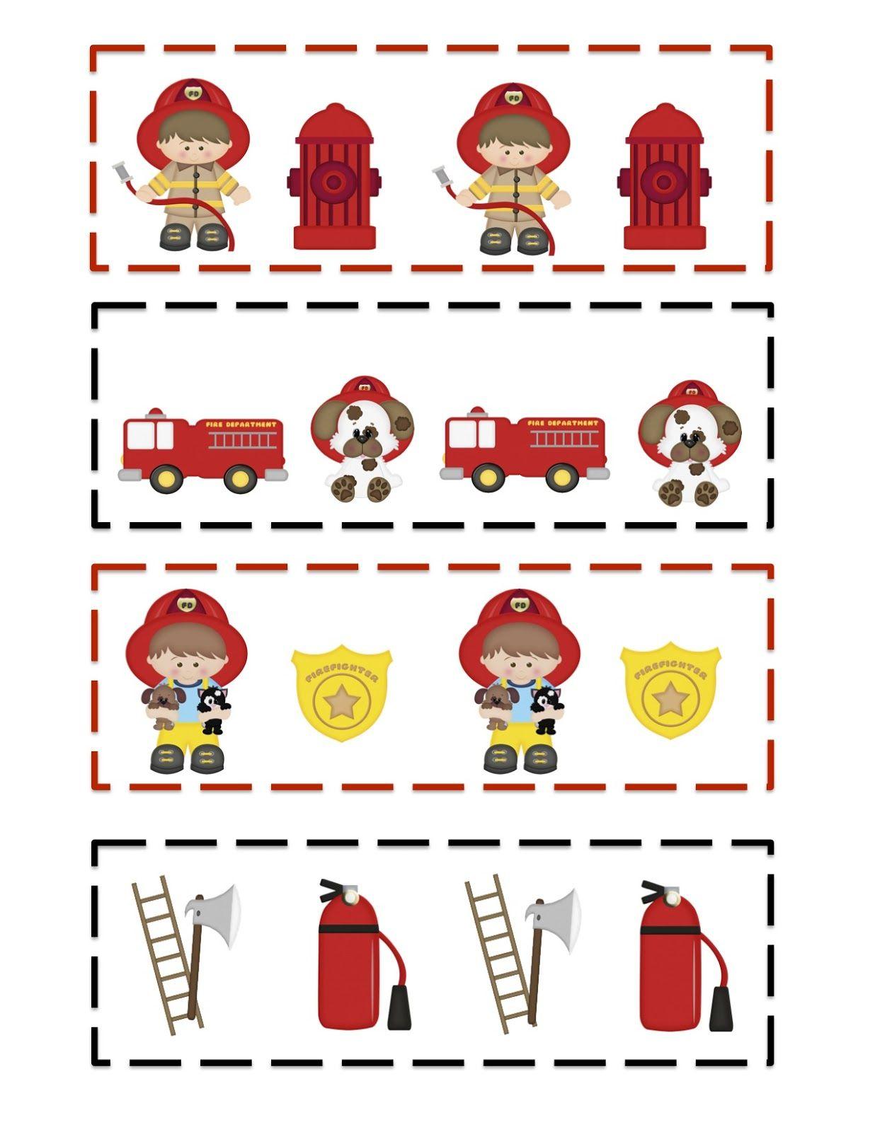 Preschool Printables Fireman