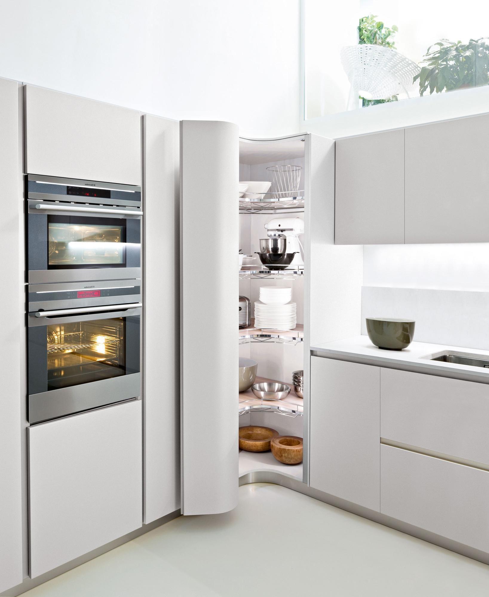 Creative Corner Kitchen for Kitchen Design White