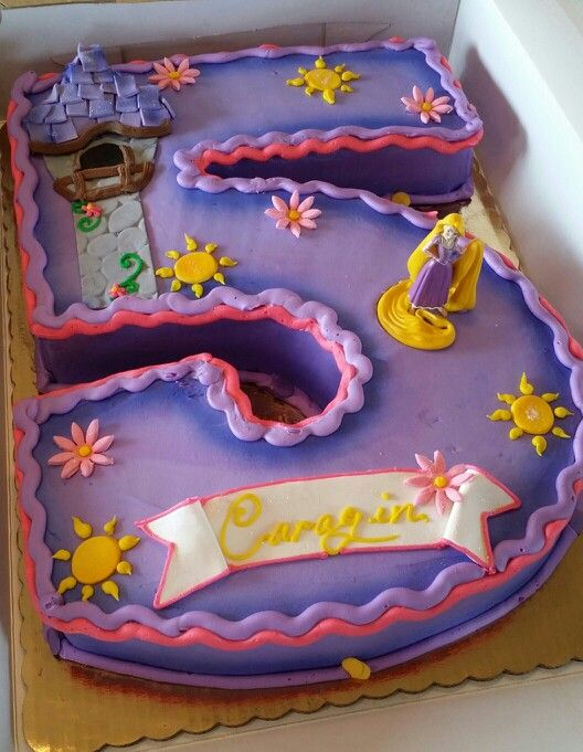 Repunzel Shaped Cake Shaped Number Cakes Pinterest